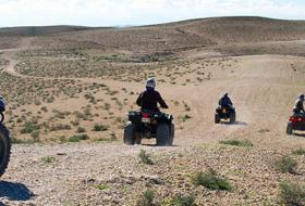Quad bike & camel ride tour in Agafay desert & Takerkoust lake