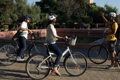 Marrakech by bike