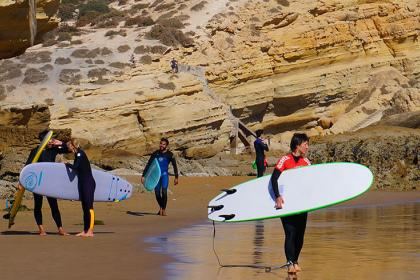 5 days surf lessons and Yoga retreat in Agadir