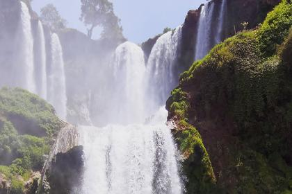 Day trip excursion to Ouzoud waterfalls from Marrakech