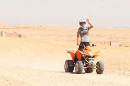 Full day quad biking in agafay desert with lunch