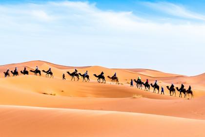 Merzouga luxury camp from Marrakech to Fes