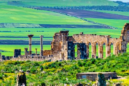 Day trip to Volubilis, Meknes and Moulay Idriss from Fez