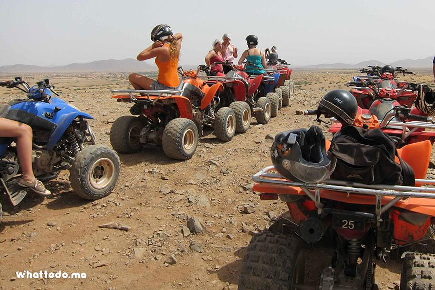 Photo - 7 - Marrakech camel ride and quad biking