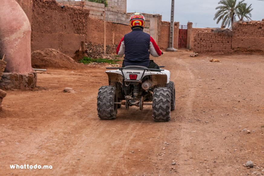 Photo - 3 - Balade en quad à la Palmeraie de Marrakech