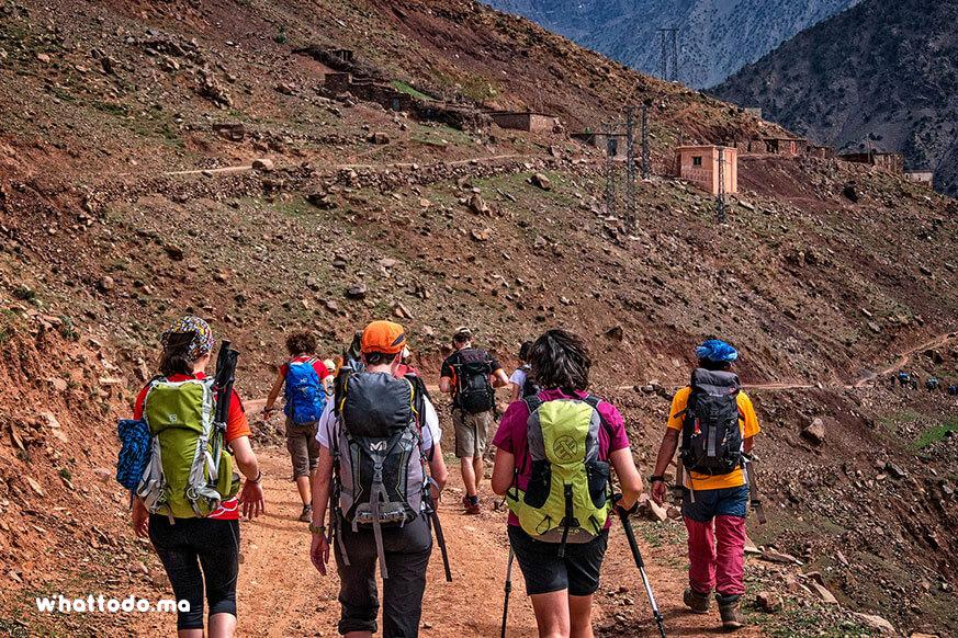 Photo - 6Trekking in Atlas Mountains, through berber villages and valleys