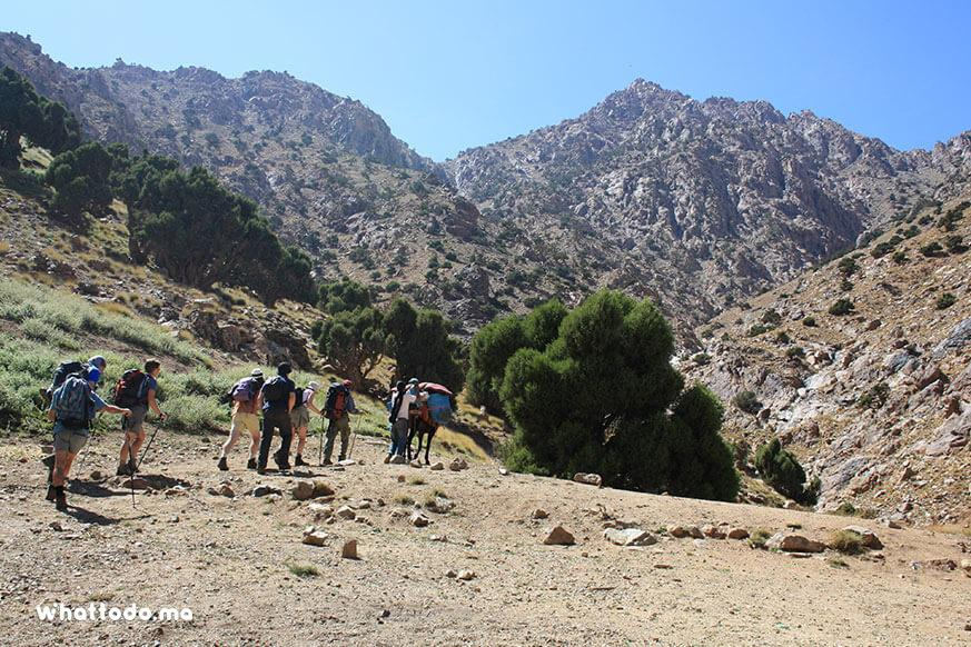 Photo - 53 days trekking from Imlil to the Ourika Valley
