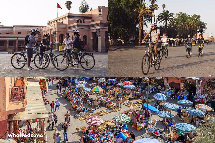 Photo - 2 -  Marrakech by bike