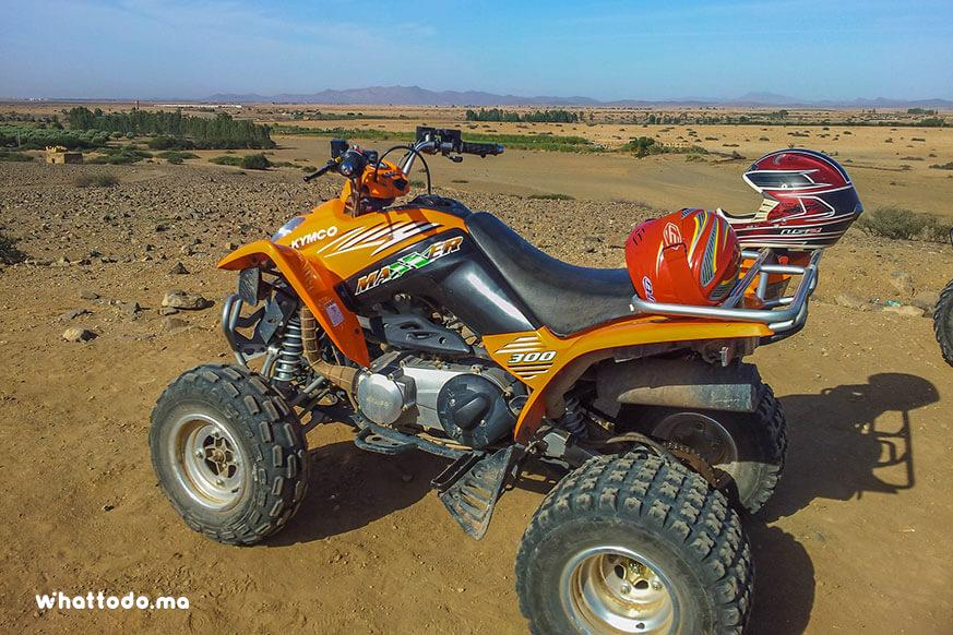 Photo - 1 - Quad bike tour in Marrakech palm grove