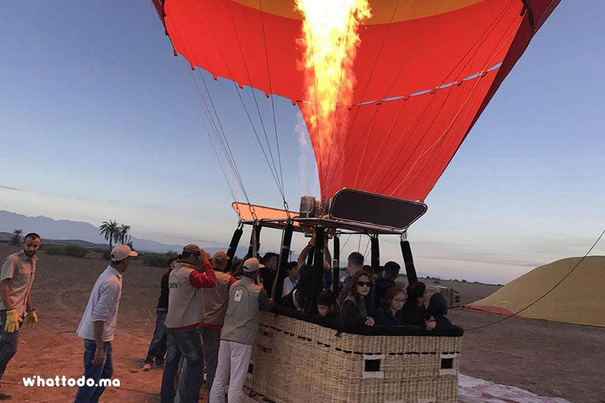 Photo - 4 - Hot air balloon in Marrakech