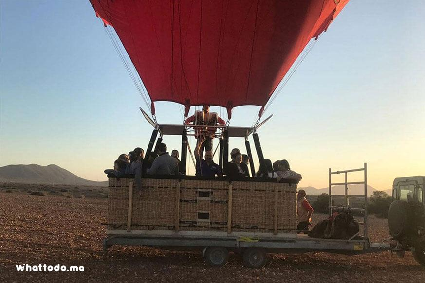 Photo - 5 - Hot air balloon in Marrakech