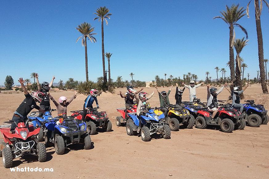 Photo - 6 - Marrakech camel ride and quad biking