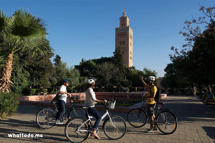Photo - 1 -  Marrakech by bike