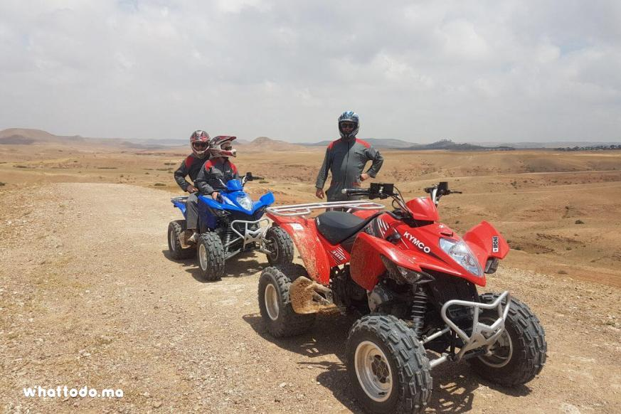 Photo - 4 - Full day quad biking in agafay desert with lunch