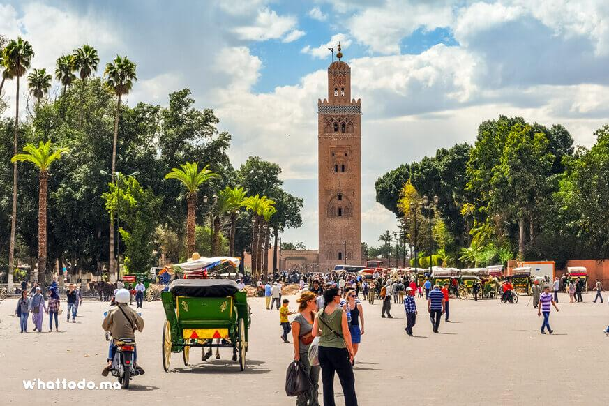 Photo - 1 - Visiter les monuments de Marrakech